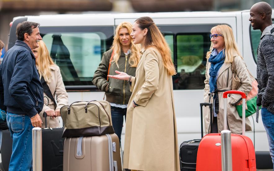 Luchthavenvervoer Kortrijk vertrek luchthaven met minibus